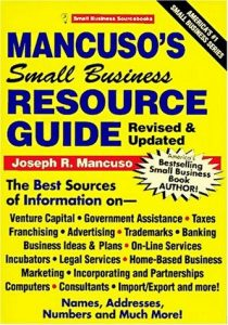 Mancuso's Small Business Resource Guide2